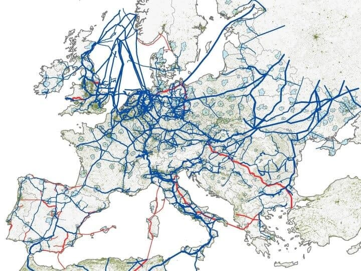 The European Natural Gas Network