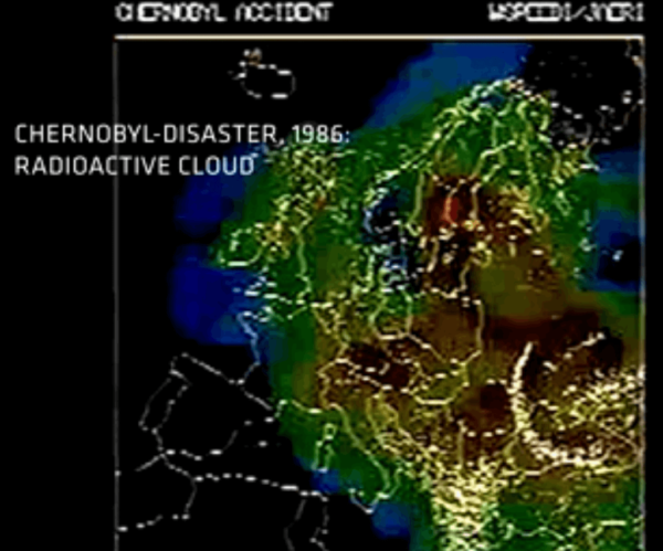 Animated Map Showing The Radioactive Cloud Moving Through ...