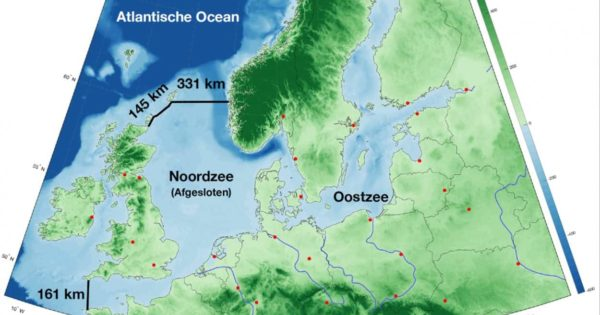 The €500B Dutch Proposal To Dam The North Sea To Protect Against...