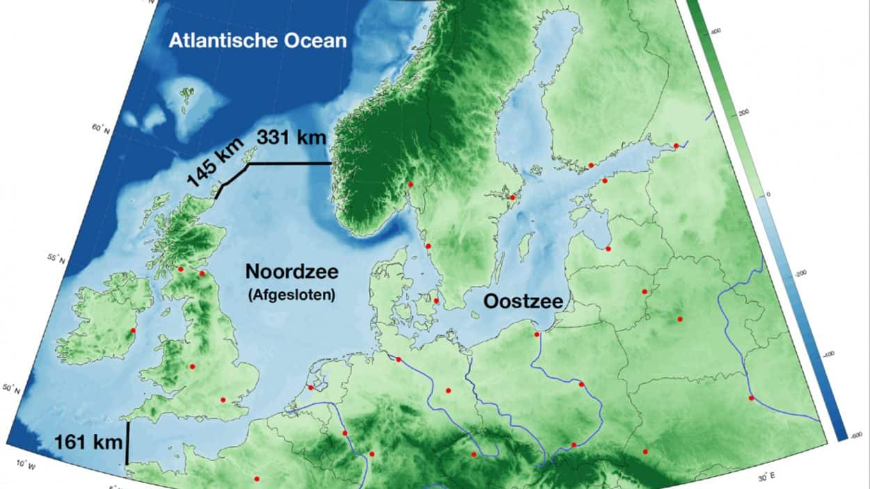 The €500B Dutch Proposal To Dam The North Sea To Protect Against Rising Sea Levels